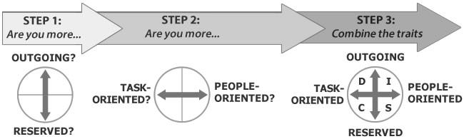 The DISC behavioral patterns