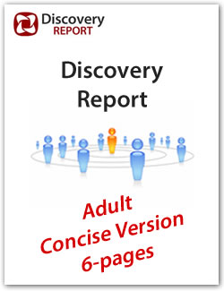 DISC Personality Profile - adult concise version