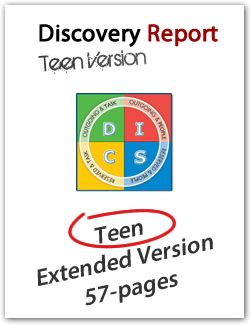 Teen DISC Personality Profile