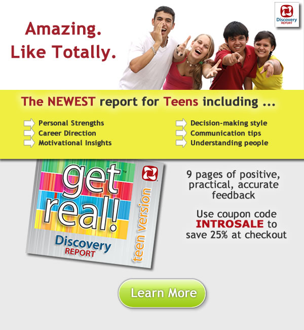 personality test for teenagers